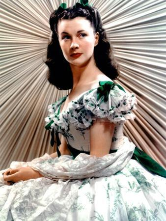 Vivien Leigh, Gone with the Wind, directed by Victor Fleming, 1939 (photo)