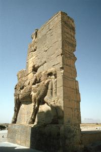 Back View of the Gate of All Nations, Persepolis, Iran by Vivienne Sharp
