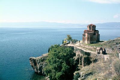 Church of St John the Divine, Kaneo, Lake Ohrid, Macedonia