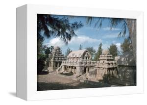 Five Rathas, Mahabalipuram, Tamil Nadu, India by Vivienne Sharp
