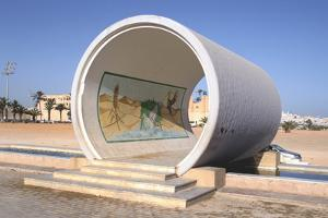 Great Man-Made River Monument, Tripoli, Libya, Late 20th Century by Vivienne Sharp