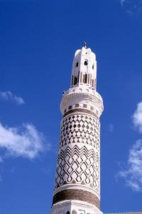 Mosque, Sana, Yemen by Vivienne Sharp