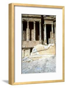 Roman Theatre, Sabratha, Libya, C161-C192 Ad by Vivienne Sharp