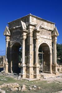 Severan Arch, Leptis Magna, Libya, C203 Ad by Vivienne Sharp