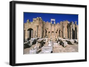 Severan Basilica, Leptis Magna, Libya, 216 Ad by Vivienne Sharp
