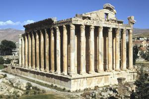 Temple of Bacchus, Baalbek, Lebanon by Vivienne Sharp