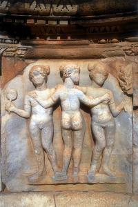 The Three Graces, Sabratha, Libya, C161-C192 Ad by Vivienne Sharp
