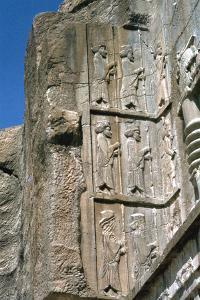 Tomb of Artaxerxes Ii, Persepolis, Iran by Vivienne Sharp