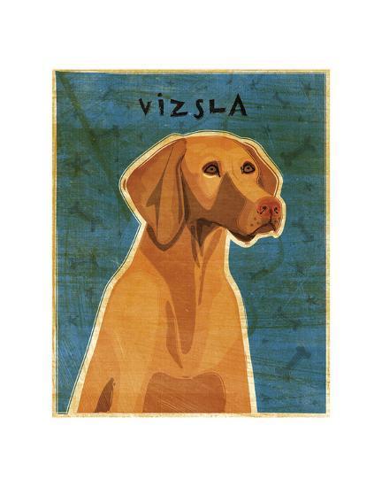 Vizsla-John W^ Golden-Art Print