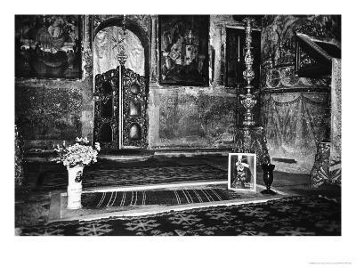 Vlad Dracul's Grave, Snagov Monastery, Wallachia, Romania-Simon Marsden-Giclee Print