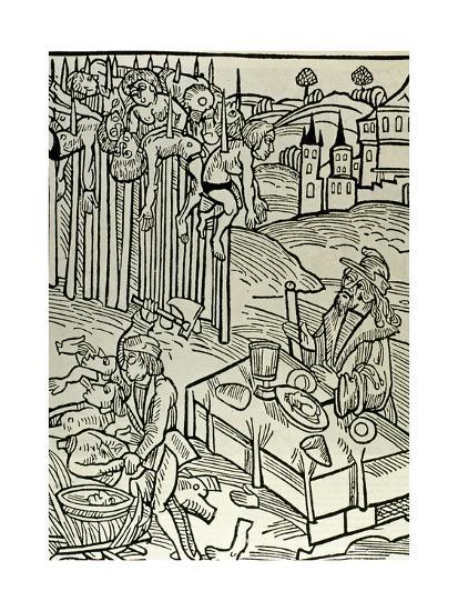 Vlad II Dracul (1393-1447), the Impaler--Giclee Print