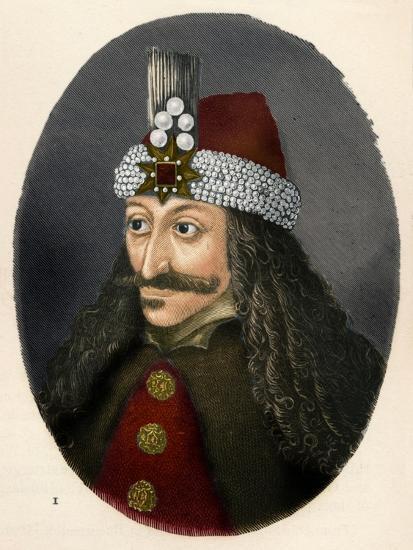 'Vlad III, Prince of Wallachia', c1906, (1907)-Unknown-Giclee Print