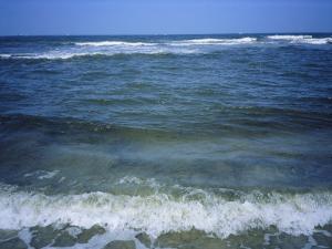 Atlantic Ocean Waves Breaking Toward the Beach by Vlad Kharitonov