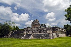 Remnants of the Ancient City of Chichen Itza by Vlad Kharitonov