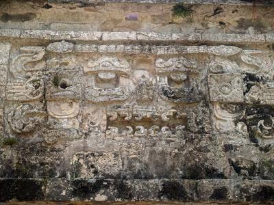 The Church, La Iglesia, in the Ancient City of Chichen Itza