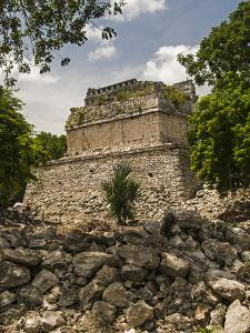 The Red House, Chichanchob, in the Ancient City of Chichen Itza by Vlad Kharitonov