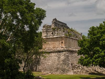 The Red House, Chichanchob, in the Ancient City of Chichen Itza