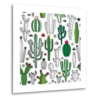 Vector Cactus Seamless Pattern