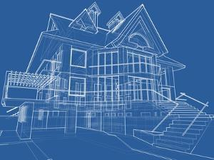 House Blueprint: Technical Draw by -Vladimir-