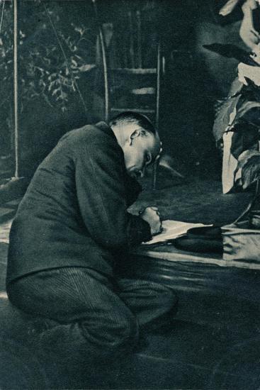 'Vladimir Ilich Lenin, Russian Bolshevik leader, Russia, July, 1921-Unknown-Giclee Print