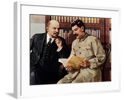 Vladimir Lenin--Framed Giclee Print