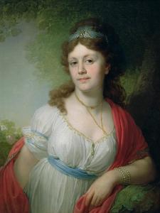 Portrait of E. Temkina, 1798 by Vladimir Lukich Borovikovsky