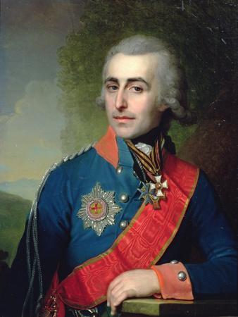 Portrait of General Aide-De-Camp Count Pyotr Tolstoy (1761-1844) 1799