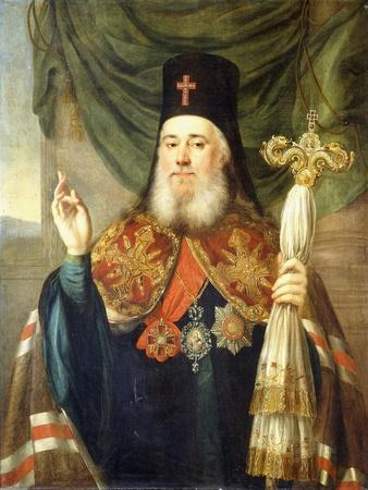 Portrait of Platon, Metropolitan of Moscow and Kolomna