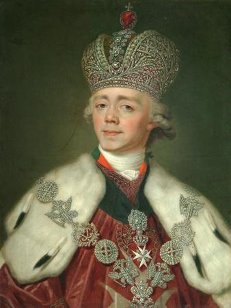 Portrait of the Emperor Paul I of Russia (1754-180), 1799-1800