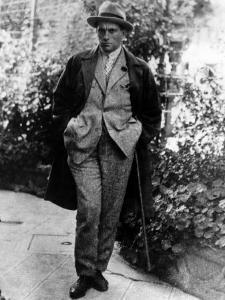 Vladimir Mayakovsky, Russian Poet, in Mexico, 1924