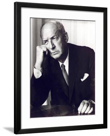 Vladimir Nabokov, C.1964--Framed Photographic Print