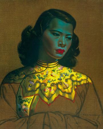 Chinese Girl by Vladimir Tretchikoff