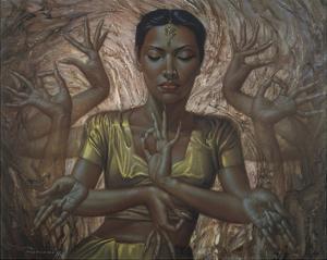 Hindu Dancer by Vladimir Tretchikoff