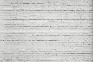 Grungy Textured White Horizontal Stone and Brick Paint Architectural Wall and Floor by Vladitto