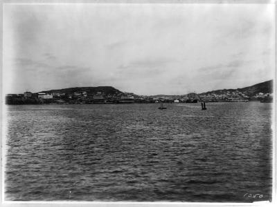 Vladivostok - Panoramic View from Harbor-William Henry Jackson-Giclee Print