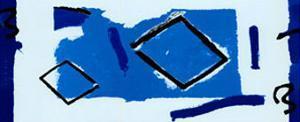 Composizione Blu by Vlado Fieri