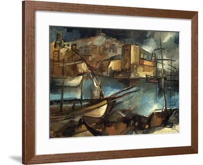 Vlaminck: Marseilles, 1913-Maurice de Vlaminick-Framed Giclee Print