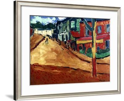 Vlaminck: Street, 1906-Maurice de Vlaminick-Framed Giclee Print