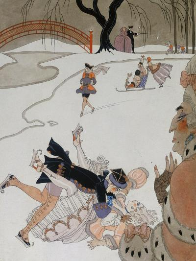 Vlan-Georges Barbier-Giclee Print