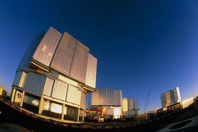 VLT Telescopes-David Nunuk-Photographic Print