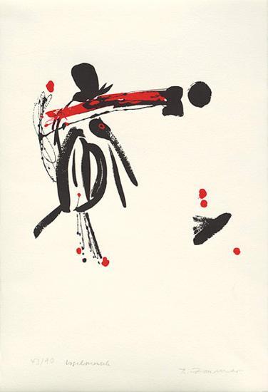 Vogelmensch, c.2001-Brigitta Zeumer-Limited Edition