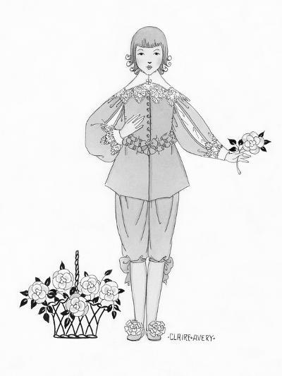 Vogue - April 1923-Claire Avery-Premium Giclee Print