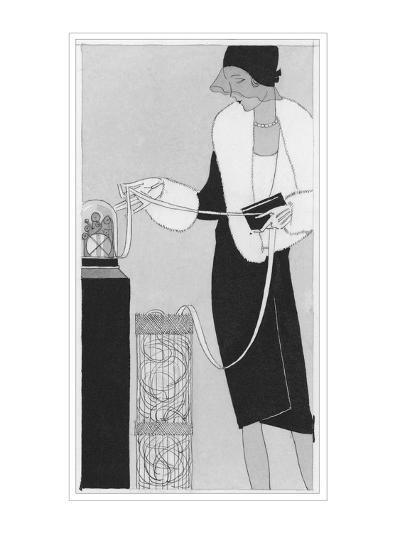 Vogue - April 1929-Jean Pag?s-Premium Giclee Print