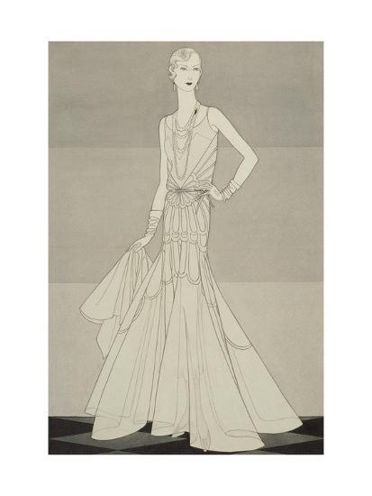 Vogue - April 1930-Douglas Pollard-Premium Giclee Print