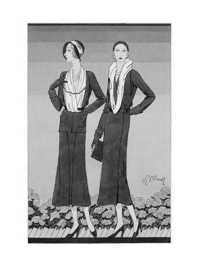 Vogue - April 1931-Douglas Pollard-Premium Giclee Print