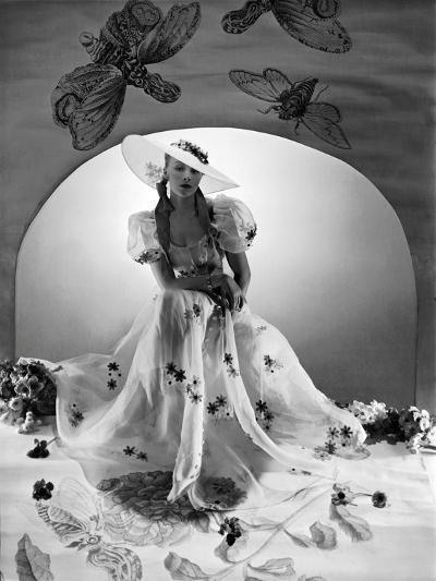 Vogue - April 1938-Horst P. Horst-Premium Photographic Print