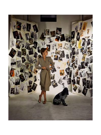 Vogue - April 1944-John Rawlings-Premium Photographic Print