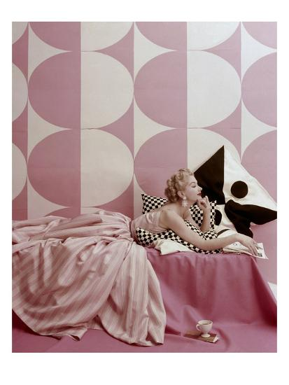 Vogue - April 1952-Richard Rutledge-Premium Photographic Print