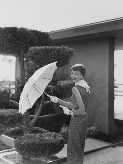 Vogue - April 1954-Karen Radkai-Premium Photographic Print