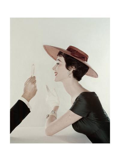 Vogue - April 1954-John Rawlings-Premium Photographic Print